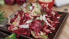 PHOTO: Mario Batali's beet and fennel insalata cruda is shown here.