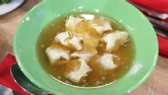 PHOTO: Mario Batalis tortellini in brodo is shown here.