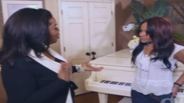 VIDEO: Bobbi Kristina and Aunt Patricia Houston tell their story to Oprah.