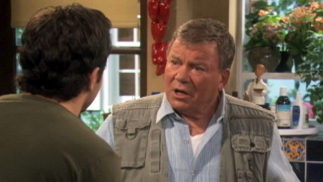 Video: William Shatner stars in a new sitcom.