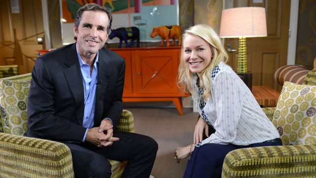 "PHOTO: ABC's Bob Woodruff sat down with actress Naomi Watts to talk about how she prepared for her role in ""The Impossible."""