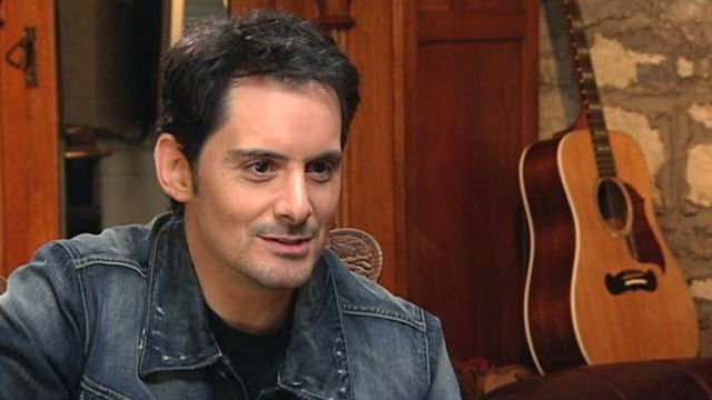 PHOTO: Country music star Brad Paisley sits down for an interview with ABC's Andrea Canning for &quot;Nightline.&quot;
