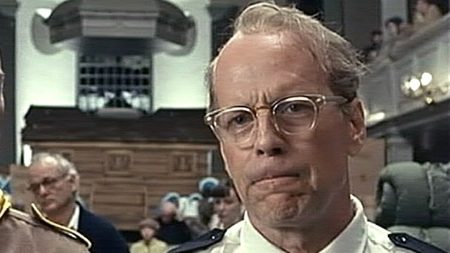 "PHOTO: Bruce Willis is shown in a scene from ""Moonrise Kingdom""."
