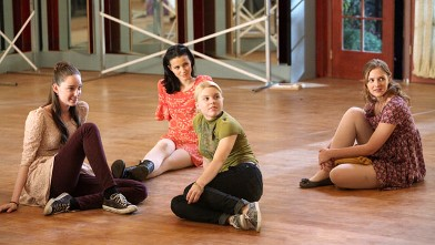 "PHOTO: A scene from the ABC Family series ""Bunheads,"" airing June 11, 2012."