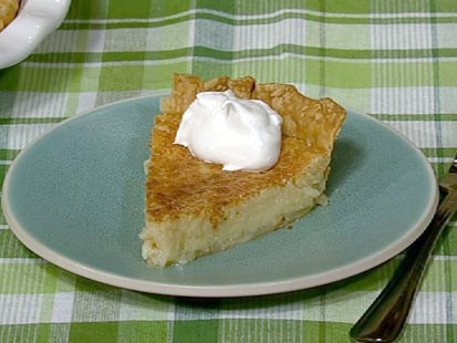 Carla Hall's buttermilk pie is shown here.
