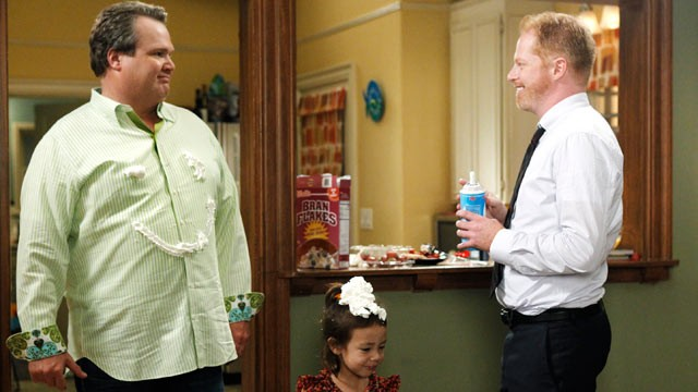 PHOTO: Eric Stonestreet and Jesse Tyler Ferguson star as Cam and Mitchell in