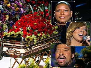Patrick swayze casket