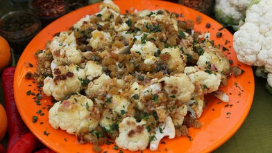 PHOTO: Michael Symon's Sicilian cauliflower recipe is shown here..