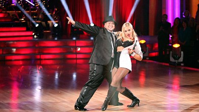 PHOTO: Chaz Bono, one of the seven couples performing their second dance of the night on &quot;Dancing with the Stars,&quot; Oct. 24, 2011.