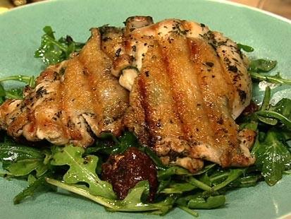 PHOTO: Mario Batalis chicken paillard is shown here.