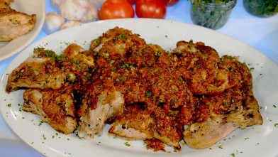 PHOTO:Jacques Pepin's Chicken in Vinegar