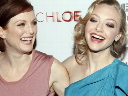 VIDEO: Julianne Moore and Amanda Seyfried dish on love and sex in their new film.