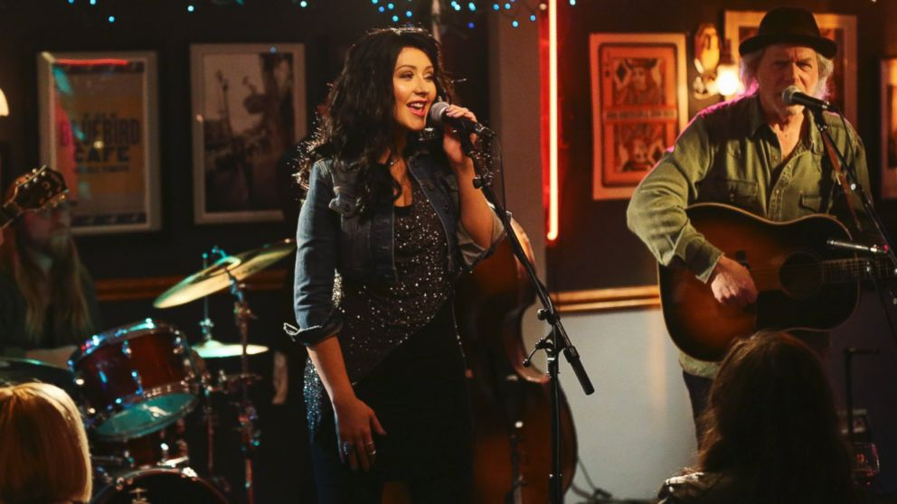 "PHOTO: Christina Aguilera appears on ""Nashville"" on the ABC Television Network."