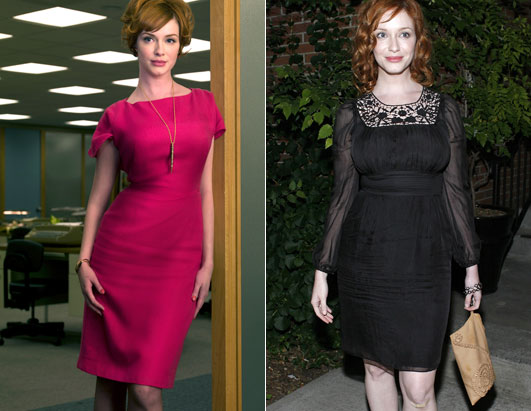 Mad Men Fashion Christina Hendricks