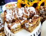 PHOTO: Ted Allens sticky bun bread pudding is shown here.