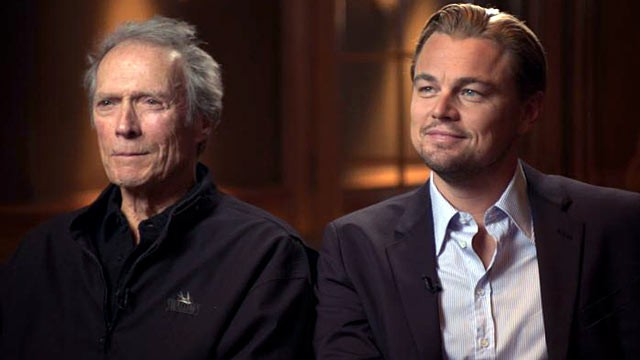 PHOTO: &quot;Nightline's&quot; Terry Moran sat down with Clint Eastwood and Leonardo DiCaprio to talk about the upcoming biopic, &quot;J. Edgar.&quot;