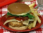 PHOTO: Clinton Kellys chicken club sandwich is shown here.