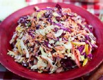 Hill Country's confetti cole slaw are shown here.