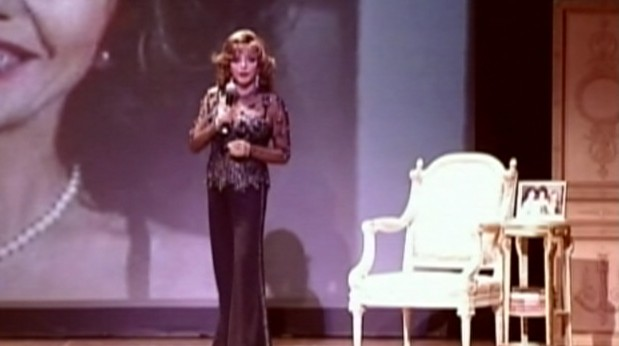 Video: Joan Collins new one woman show.
