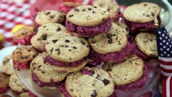 Fabio Viviani's ice cream sandwiches are shown here.