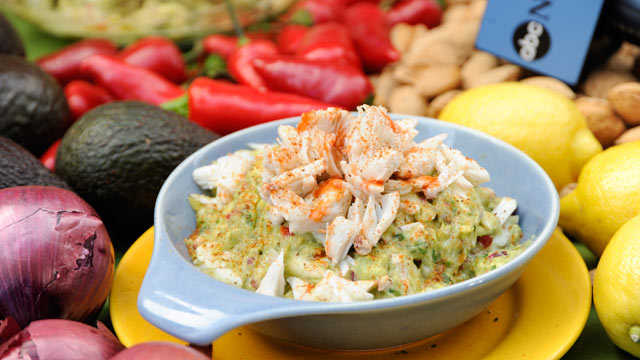 PHOTO: Rachael Ray's crabby guacamole is shown here.