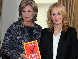 J.K. Rowling's Daughter 'Tutored' Her on Teen Slang