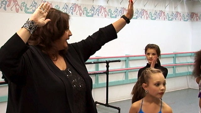 PHOTO: Abby Lee Miller's tough coaching has come under criticism from Derek Hough and Mark Ballas.