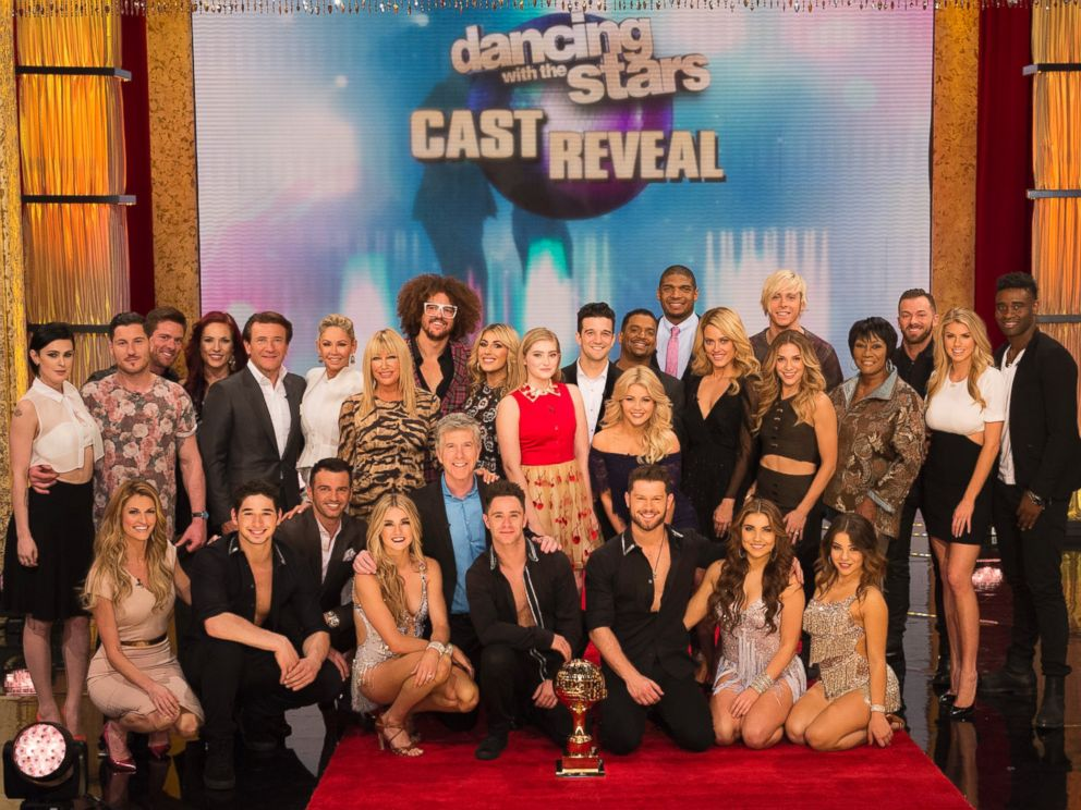 PHOTO: The star-studded celebrity cast for season 20 of Dancing With the Stars was revealed today on Good Morning America.