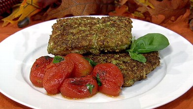PHOTO: Daphne Oz's pistachio crusted halibut