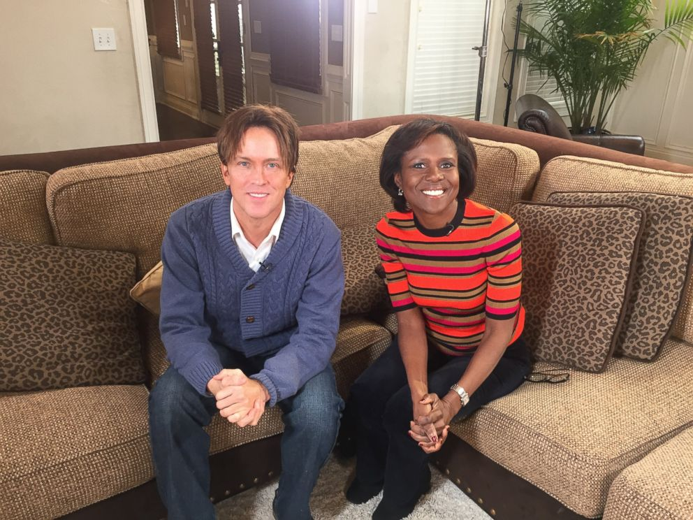Larry Birkhead is pictured here with ABCs Deborah Roberts during an interview with ABC News 20/20.