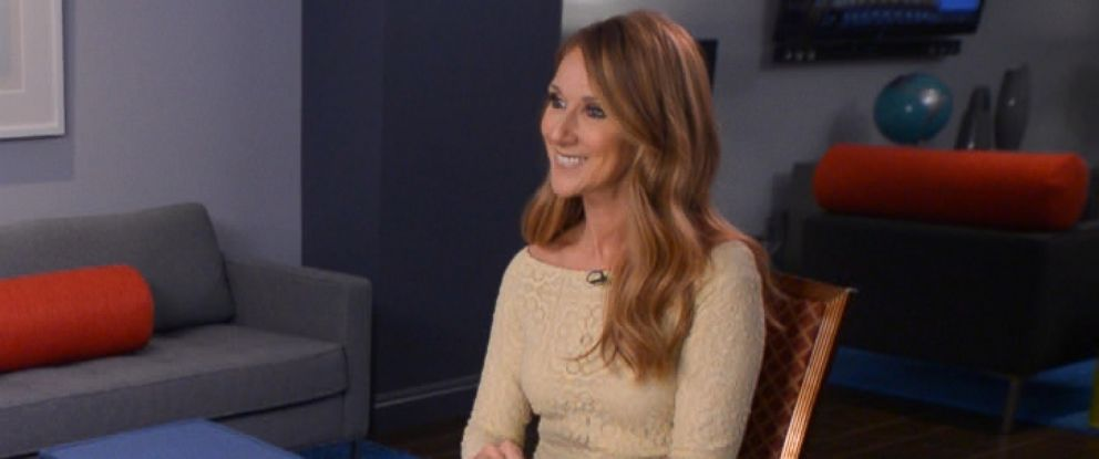 PHOTO: Deborah Roberts sits down with Celine Dion.
