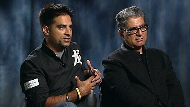 PHOTO: Deepak and Gotham Chopra