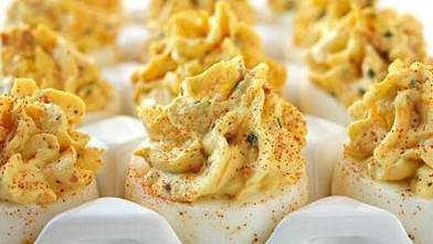 PHOTO: Bacon and Cheddar Deviled Eggs