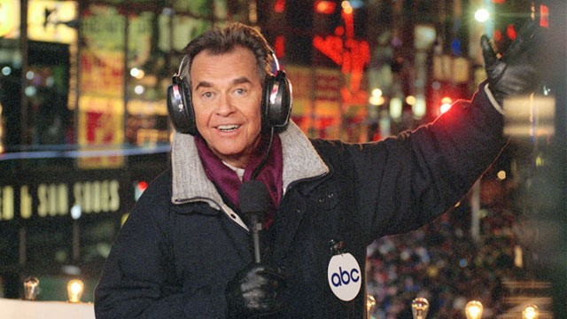 PHOTO: Dick Clark in Times Square