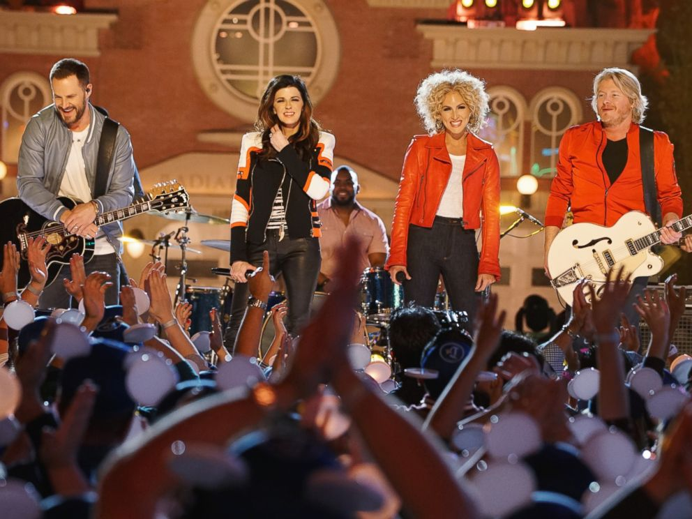 PHOTO: Grammy Award-winning country music vocal group Little Big Town performs on The Wonderful World of Disney: Disneyland 60, airing Feb. 21, 2016 at 8:00 p.m. on the ABC Television Network.