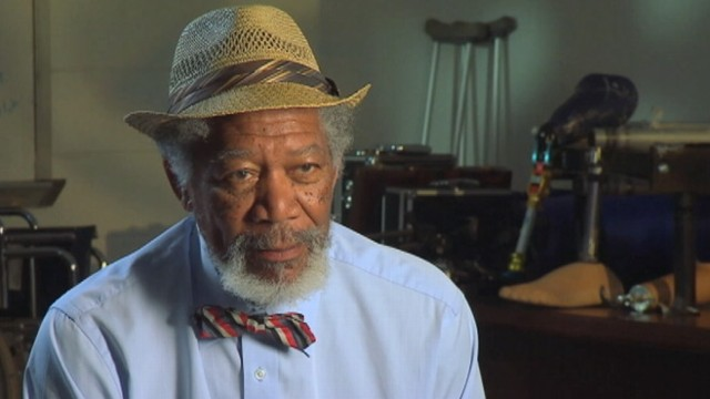 "VIDEO: Morgan Freeman on ""instant chemistry"" that drew him to the film, ""Dolphin Tale."""