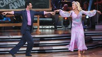 PHOTO Kate Gosselin and Tony Dovolani compete on &quot;Dancing with the Stars,&quot; April 19, 2010.