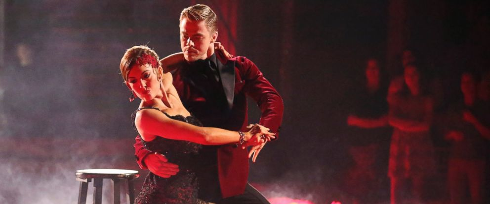 PHOTO: Amy Purdy dances with Derek Hough on the May 5, 2014 episode of Dancing With The Stars.