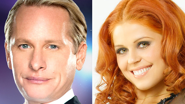 PHOTO: Carson Kressley and Anna Trebunskaya