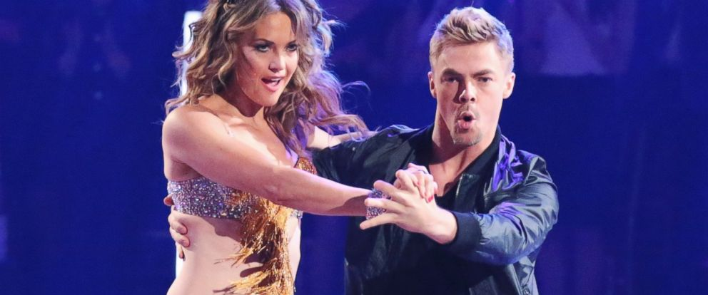 PHOTO: Amy Purdy and Derek Hough perform on the season premiere of Dancing with the Stars on March 17, 2014.