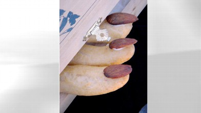 PHOTO: Pictured here are Eclair Fingers for &quot;Spot Dessert Bar&quot;'s spooky desserts.