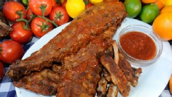 PHOTO: Emeril Lagasse's Oven Baked Barbecue Baby Back Ribs are seen here in this undated photo.