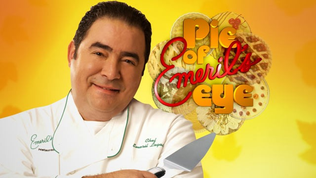 PHOTO:&nbsp;Emeril Lagasse's new contest, &quot;Pie in the Eye&quot;,  will air on Good Morning America.