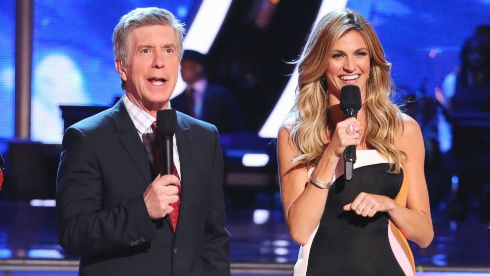 PHOTO: Erin Andrews and Tom Bergeron appear as hosts on Dancing With the Stars.