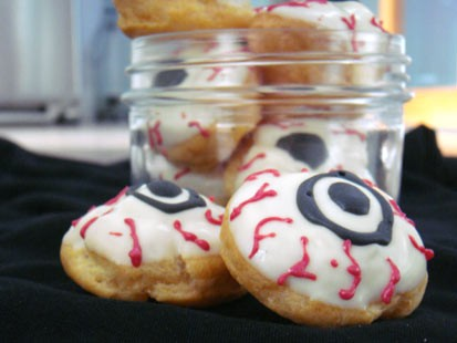 PHOTO: Pictured are Eyeball cookies for the
