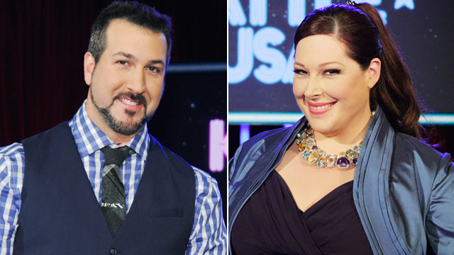 PHOTO: Joey Fatone and Carnie Wilson
