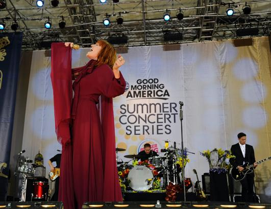 Florence and the Machine Rock GMA's Summer Concert Series!