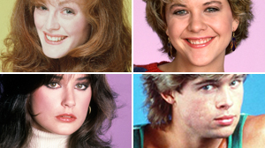 PHOTO Julianne Moore, Meg Ryan, Demi Moore, and Brad Pitt are shown in publicity stills from their soap opera work.