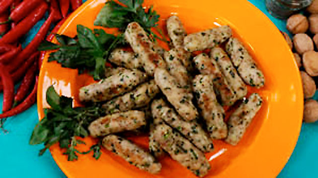 PHOTO: Fragrant chicken fingers are shown.