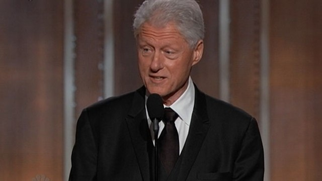 VIDEO: Bill Clinton introduced a clip of Lincoln at the awards show.